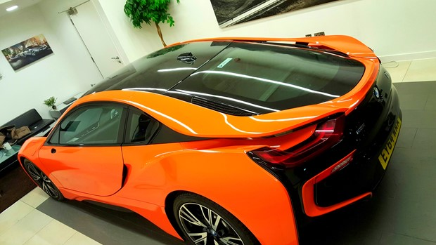 Bmw I8 Wrap London Bromley Cfx