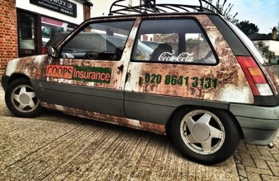 COOPS INSURANCE RUST WRAP