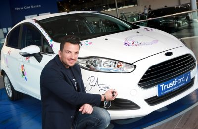 PETER ANDRE'S CANCER UK FIESTA WRAP