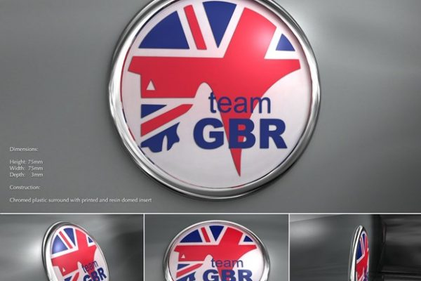 Subaru GB Badge
