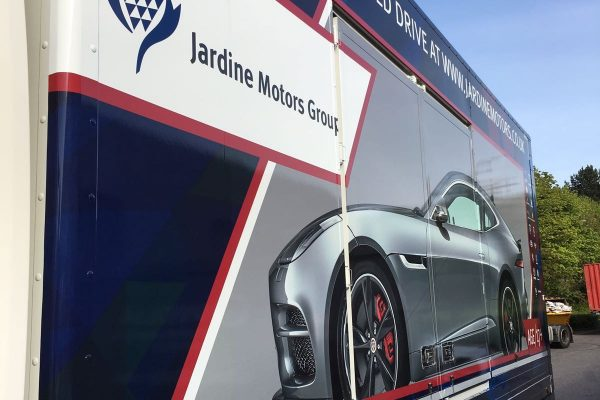 Jardine Motors Lorry Wrap 5