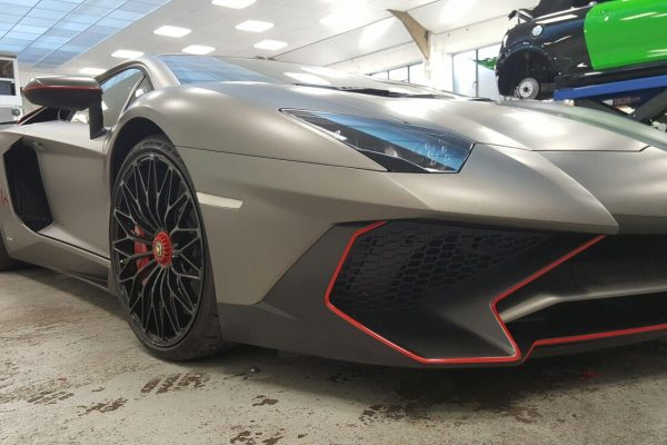 Lamborghini Aventador Paint Protection Film Creative Fx Www.fxuk.net 2