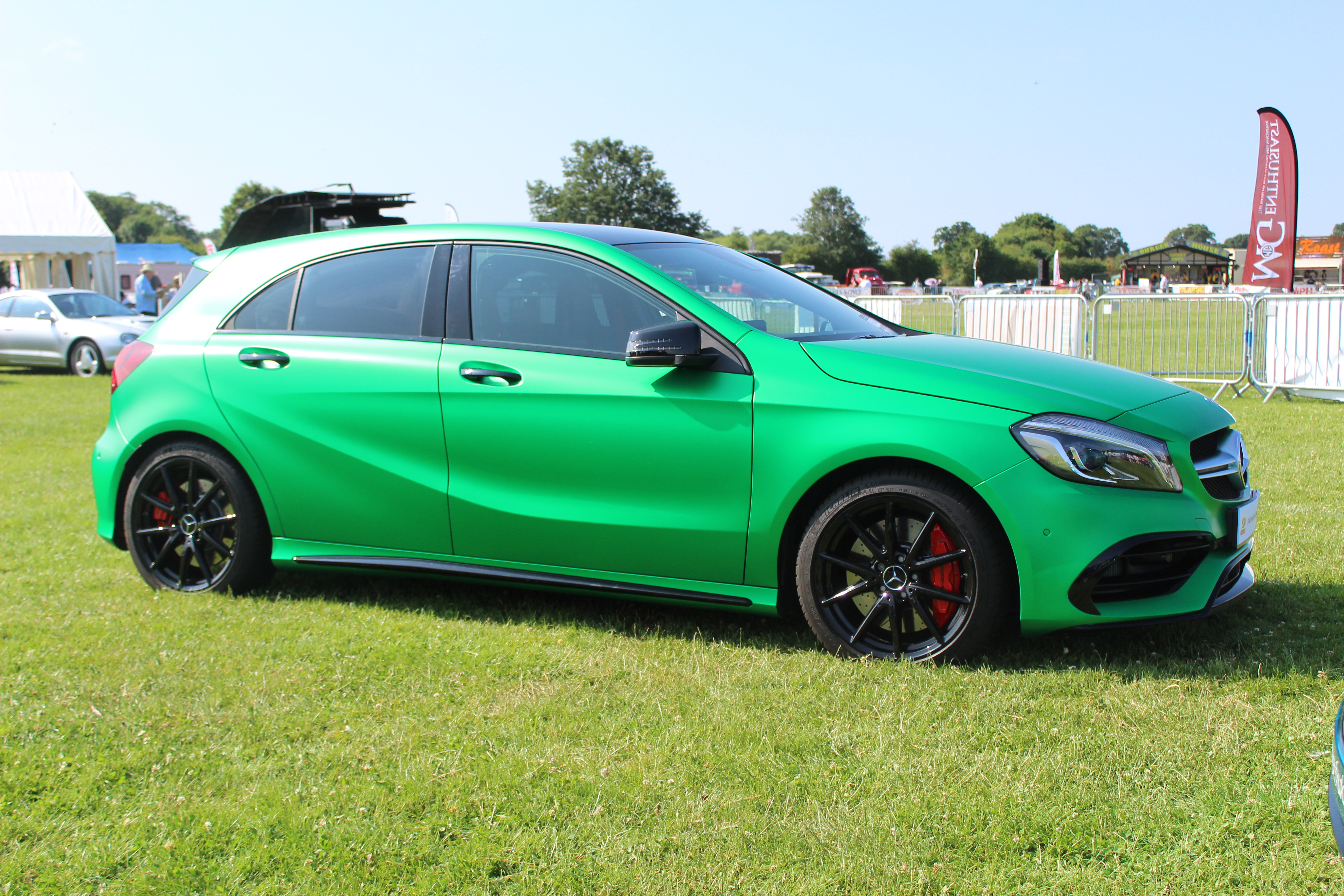 Green A45 Amg News Of New Car Release And Reviews Further Razor Dune Buggy Wiring Diagram On Tesla Electric Mercedes Creative Fx