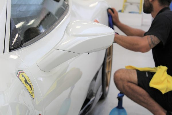 Ferrari 458 Speciale Ppf Paint Rpotection Film Creative Fx Bromley 4