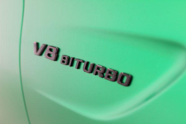 MERCEDES C63 AMG METALLIC SATIN GREEN BY CREATIVE FX 6
