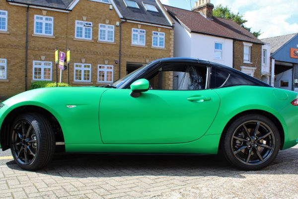 Mazda Mx 5 Green Envy Wrap By Creative Fx 1
