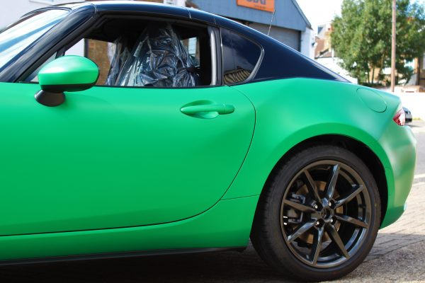 Mazda Mx 5 Green Envy Wrap By Creative Fx 4