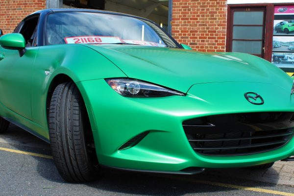 Mazda Mx 5 Green Envy Wrap By Creative Fx 5