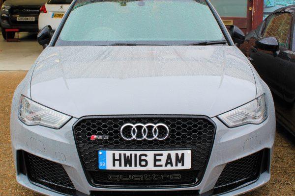 Audi RS3 PPF Wrap 1