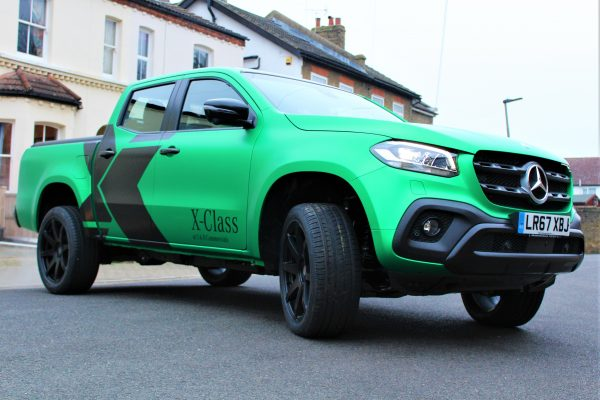 Xclass Mercedes Green Envy Wrap By Creative Fx 2