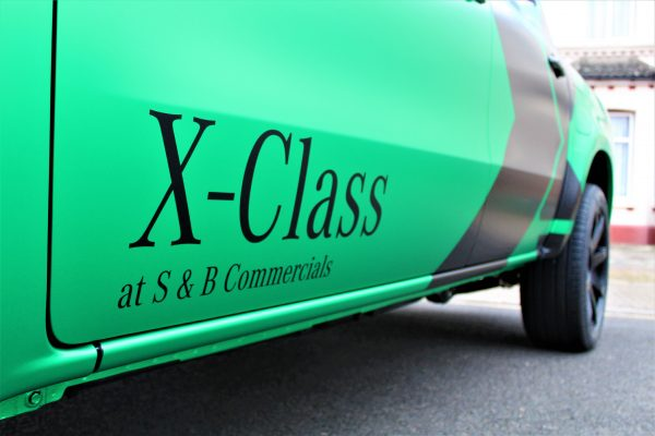 Xclass Mercedes Green Envy Wrap By Creative Fx 3