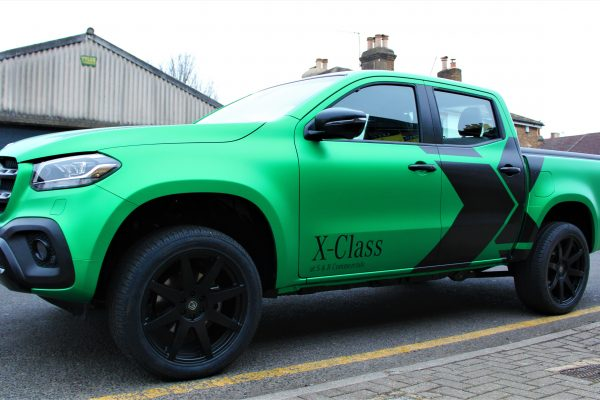 Xclass Mercedes Green Envy Wrap By Creative Fx 4