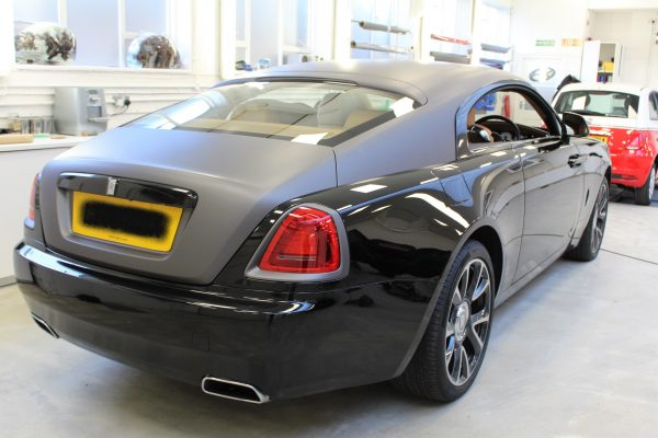 Rolls Royce Wraith Car Wrap By Creative Fx In London Bromley 1