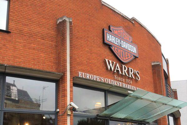 Warrs Motors Signage By Creative Fx 1