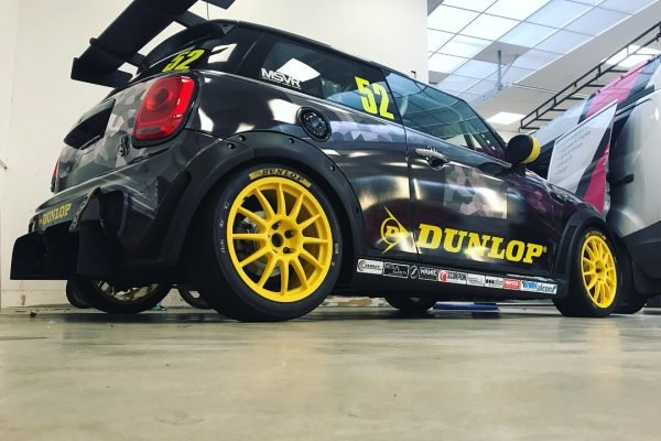 Dunlop MINI Challenge Race Car By Creative Fx Wrapped 2