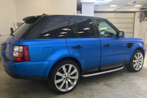 Rangerover Sport Car Wrap By Creative Fx 2