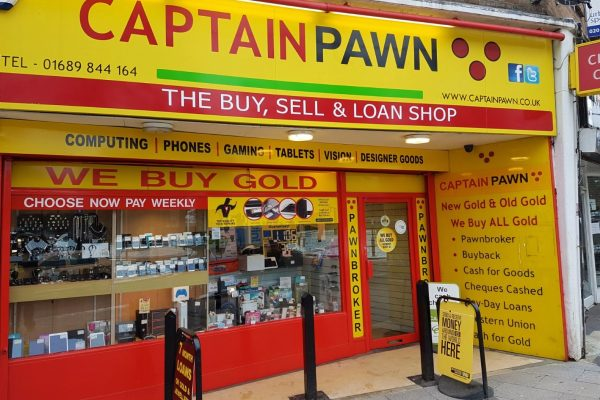 Captain Pawn Fascia And Signage Work By Creative Fx In Bromley 1