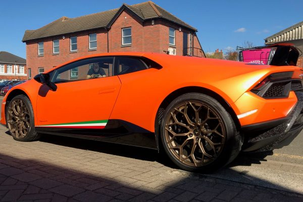 LAMBORGHINI HURACAN PERFORMANTE FULL PAINT PROTECTION FILM CREATIVE FX BROMLEY 4