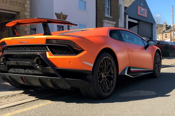 LAMBORGHINI HURACAN PERFORMANTE FULL PAINT PROTECTION FILM CREATIVE FX BROMLEY 5