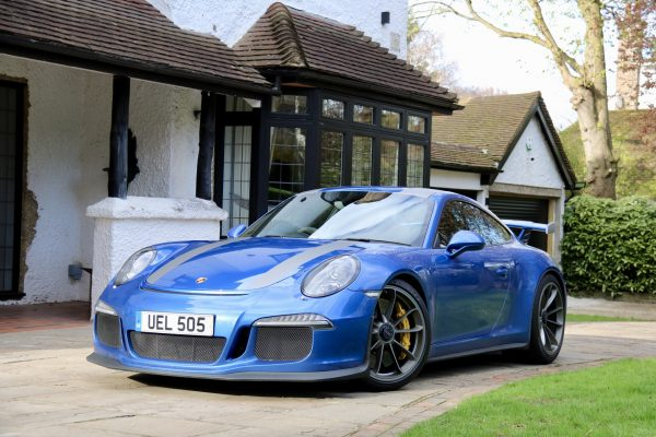 Porsche 911 GT3 Stripes 1 By Creative Fx In Bromley Car Wrapping London 4