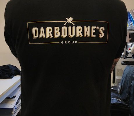 Larder Meat And Eat Workwear By Creative Fx Based In Bromley Workwear Tshirt Printing Unifrom Creative Fx 2