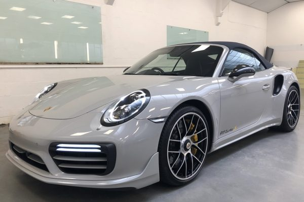 Porsche 911 Turbo S PAint Protection Film By Creative Fx In Bromley London 2
