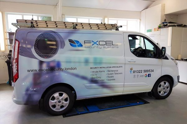 Excel Security Van Wrap By Creative Fx In Bromley 2