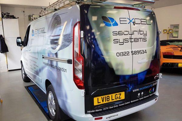 Excel Security Van Wrap By Creative Fx In Bromley 4