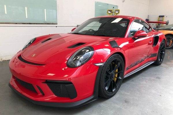 Porsche GT3 RS Full Paint Protection Film Installation 1