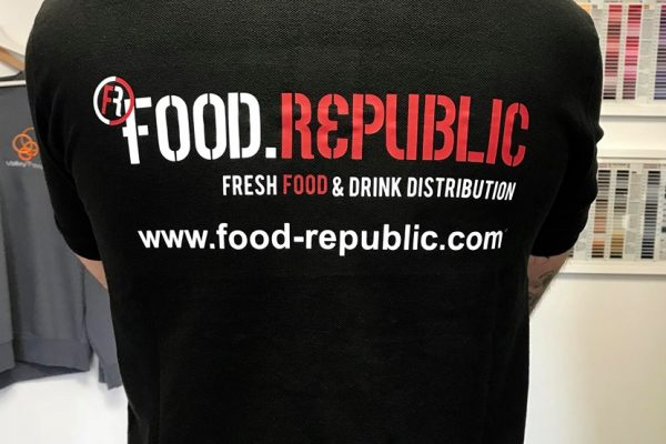 Food Republic Printed Clothing By Creative FX In Bromley 1