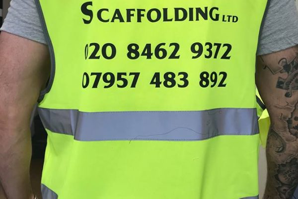 SAS Scaffolding Clothing Printed By Creative Fx 1