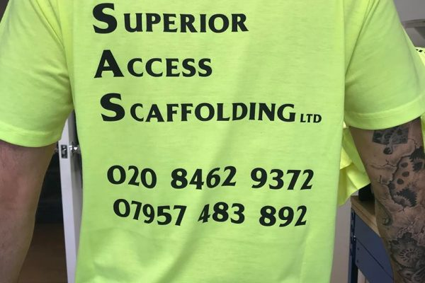 SAS Scaffolding Clothing Printed By Creative Fx 3