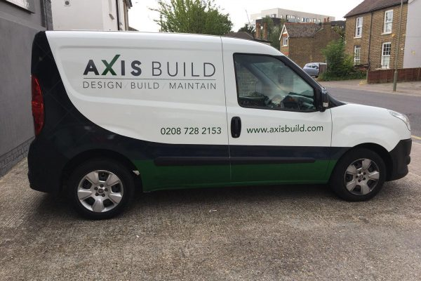 Axis Build Van Wrap By South East London Creative Fx 3