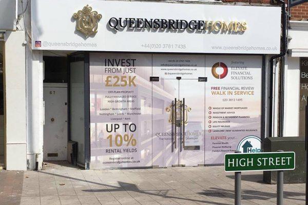 Queensbridge Homes Fascia Work By Creative Fx In South London 1