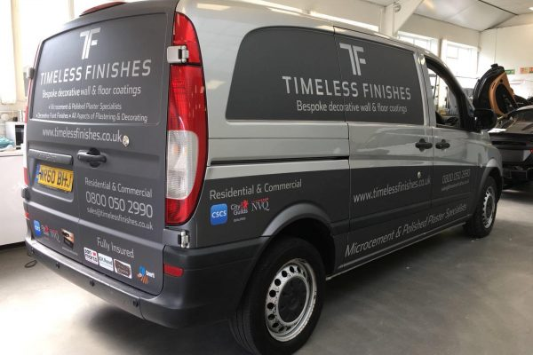 Timeless Finishes By Creative Fx Van Wraps In Bromley 1