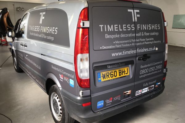 Timeless Finishes By Creative Fx Van Wraps In Bromley 3