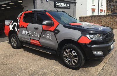 FULL VAN WRAP – HCH PLANT HIRE