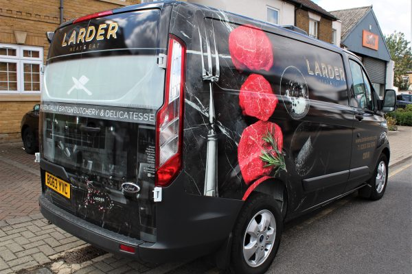 LARDER VAN WRAP BY CREATIVE FX BROMLEY 2