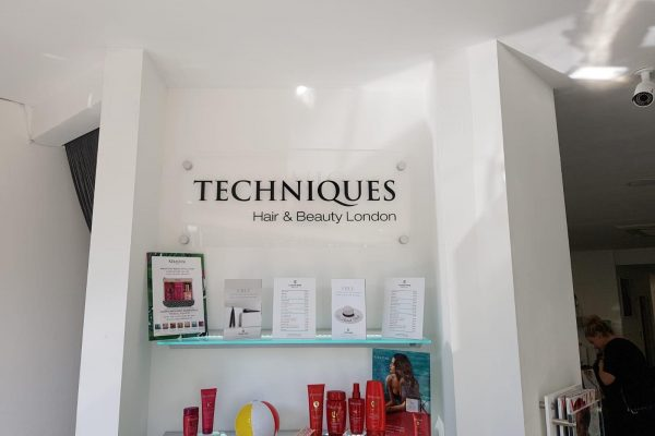 Techniques Beauty Salon Interior Signage By Creative Fx 2