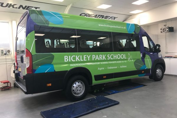 Bickley Park School Bromley Signage By Creative Fx 1