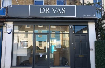 NEW SHOP SIGNAGE – DR VAS