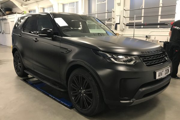 Satin Black Discovery Wrapped By Creative Fx 3