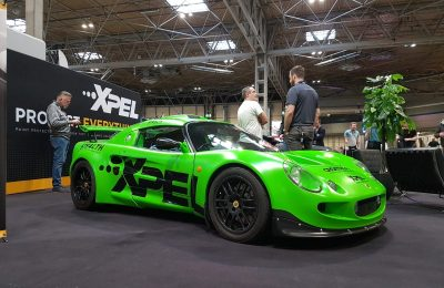 LOTUS EXIGE SHOW CAR – HALF AND HALF XPEL PAINT PROTECTION