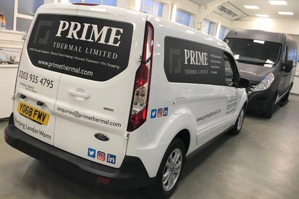 Prime Thermal Van Wrap 2