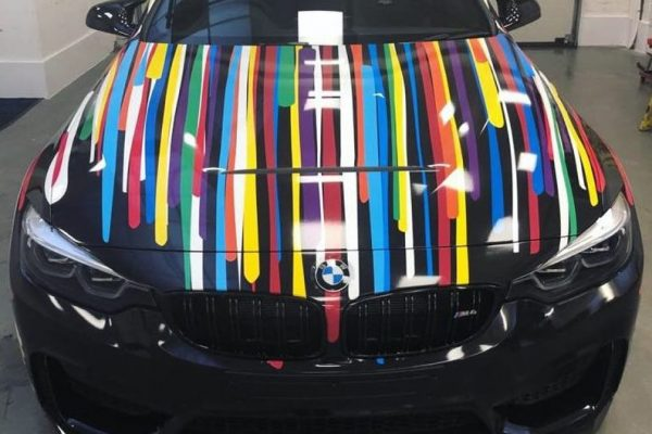 BMW WRAPPING CREATIVE FX M4 1