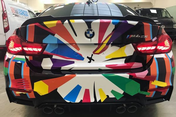 BMW WRAPPING CREATIVE FX M4 4