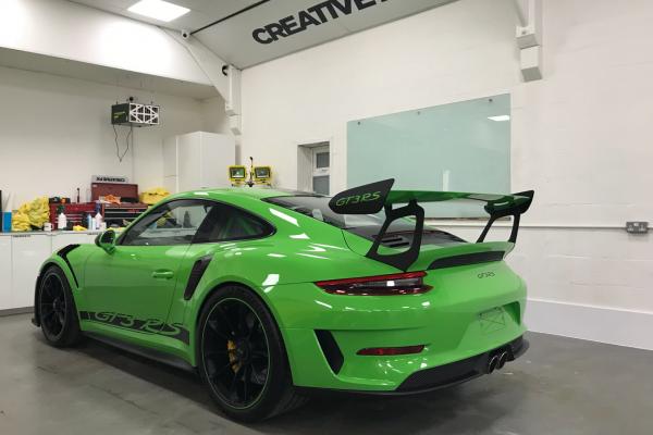 Porsche GT3RS Wrap By Creative Fx Paint Protection Film 1