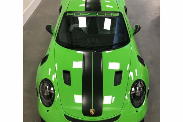 Porsche GT3RS Wrap By Creative Fx Paint Protection Film 2