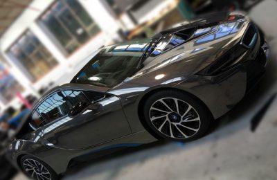 BMW I8 BLACK CHROME
