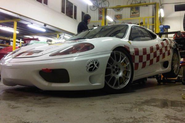FOSKERS FERRARI RACE CAR GRAPHICS - Creative FX